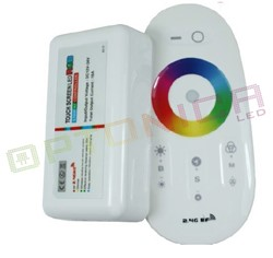 Picture of Controler MINI Banda LED RGB+Alb LED 12-24V Cu telecomanda TOUCH alba