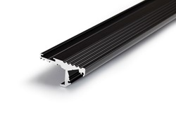 Picture of LED profile STEP10 C 2000 black anodizat