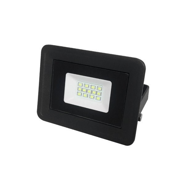 Picture of LED SMD FLOODLIGHT BLACK 10W AC170-265V 100° IP65 4500K - CLASSIC