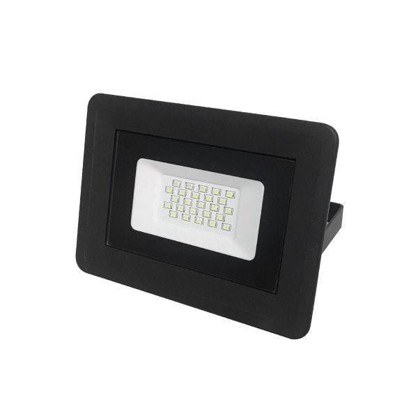 Picture of LED SMD FLOODLIGHT BLACK 20W AC170-265V 100° IP65 4500K - CLASSIC