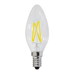 Picture of Bec lumanare filament LED  BULB  E14  2W 220V lumina calda 2700K