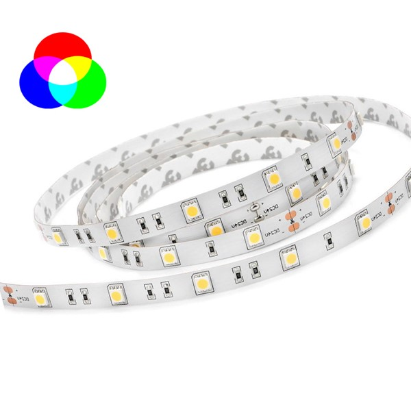 Picture of Banda LED 5050 60 SMD/M 14.4W  RGB Permeabila
