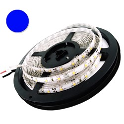 Picture of Banda LED 3528 60 SMD/M 4,8W ALBASTRU Impermeabila SILICON