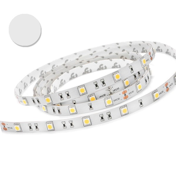 Picture of Banda LED 5050 30 SMD/M 7,2W ALB CALD Permeabila