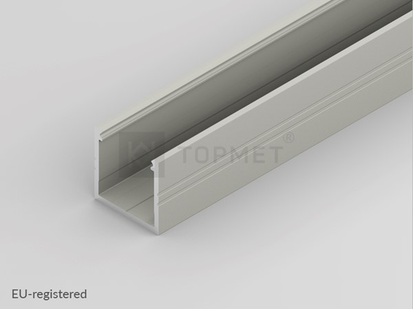 Picture of LED profile SMART16 B/U4 2000 anodizat