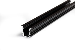 Picture of LED profile DEEP10 BC/UX 1000 black anodizat