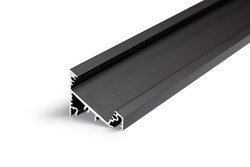 Picture of LED profile CORNER27 G/UX 1000 black anodizat