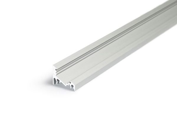 Picture of LED profile CORNER10 BC/UX 2000 anodizat