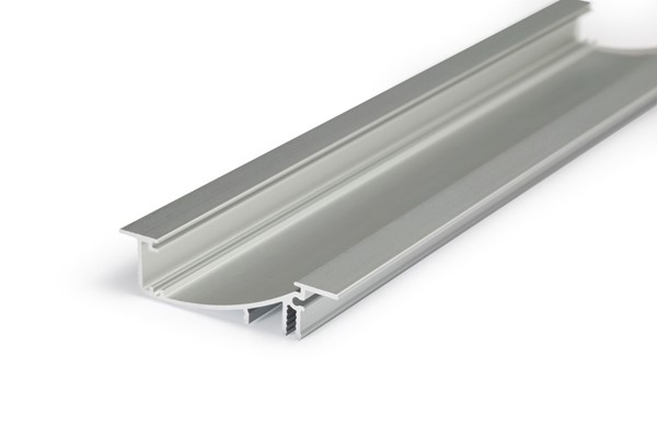 Picture of LED profile FLAT8 H/UX 2000 anodizat