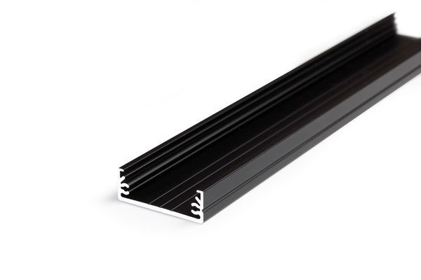 Picture of LED profile WIDE24 G/W 2000 black anodizat