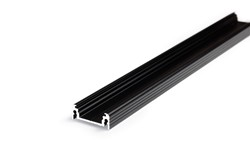 Picture of LED profile SURFACE14 EF/Y 2000 black anodizat